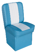 Wise Jump Boat Seat (Light Blue/White)