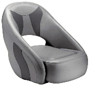 Attwood Avenir Sport Full Upholstered Seat (Grey/Smoke)
