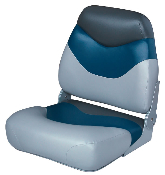 Wise Boat Seat (Grey/Blue/Charcoal)