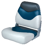 Wise Boat Seat (White/Blue/Charcoal)