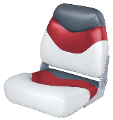 Wise Boat Seat (White/Red/Charcoal)