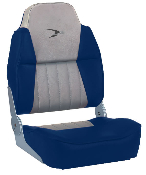 Wise Fishing Boat Seat (Grey/Navy)