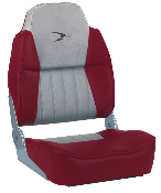 Wise Fishing Boat Seat (Grey/Red)