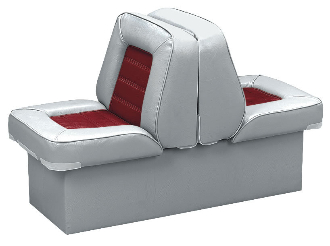 Wise Deluxe Lounge Seat (Grey/Red)