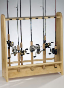 Organized Fishing 16-Rod Holder