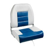 Bass Pro Shops Big Man Boat Seat (Grey/Blue)