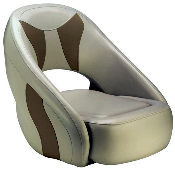 Attwood Avenir Sport Full Upholstered Seat (Grey/Beige)