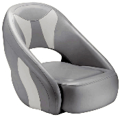 Attwood Avenir Sport Full Upholstered Seat (Grey/Bright-White)