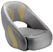 Attwood Avenir Sport Full Upholstered Seat (Grey/Off-White)