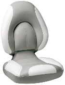 Attwood Centric Fully Upholstered Seat (Grey/Bright-White)
