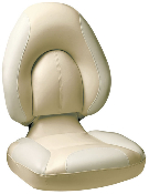 Attwood Centric Fully Upholstered Seat (Tan/Off-White)
