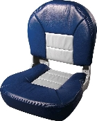 Tempress Profile Deluxe Boat Seats (Blue/Grey)